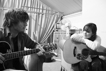 Angus and Julia Stone by Mitch Connolly