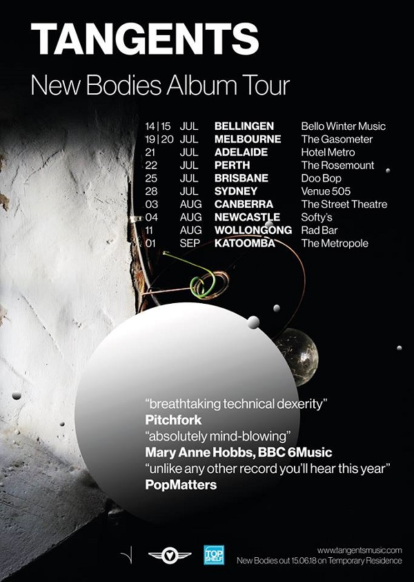 new bodies tour